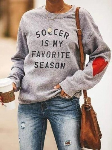Soccer Is My Favorite Season