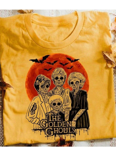 The Golden Ghouls Halloween Tee