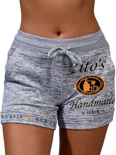 Tito's Handmade VODKA Heather Active Shorts