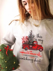 [US FAST DELIVERY] This Is My Hallmark Movies Watching Sweatshirt