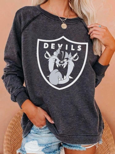 Devils Hounds Football Sweatshirt