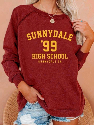 Sunnydale 99 High School Sweatshirt