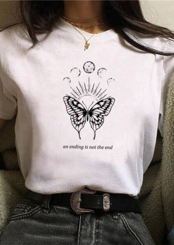 An Ending Is Not The End Butterfly Tee