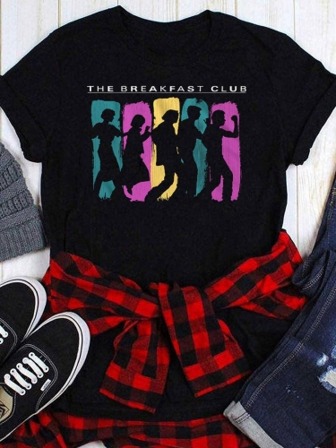 The Breakfast Club Printed Tee