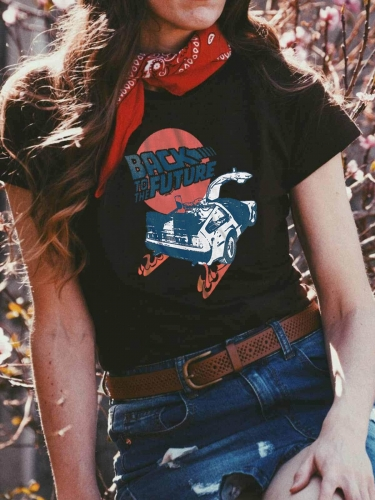 Back To The Future Vintage Tee