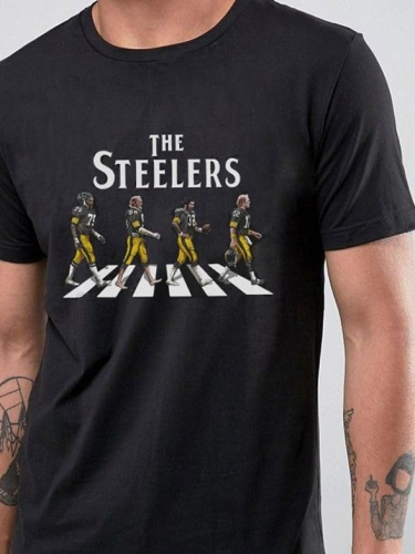 [PRE-SALE] The Football Team Walking Abbey Road Mens Tee