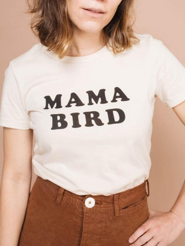 Mama Bird Cotton Tee
