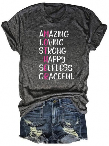 Amazing Loving Mother Mom Definition Tee
