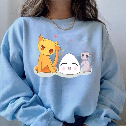 Anime Cat And Mouse Sweatshirt